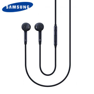 Official Samsung Galaxy S6 Earphones - Black