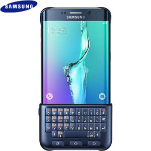 Official Samsung Galaxy S6 Edge Plus QWERTZ Keyboard Cover - Black