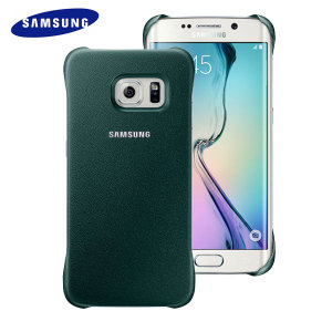 Official Samsung Galaxy S6 Edge Protective Cover Case - Green