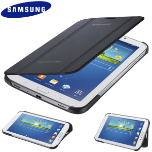 Official Samsung Galaxy Tab 3 7.0 Book Cover - Dark Grey