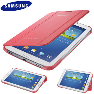 Official Samsung Galaxy Tab 3 7.0 Book Cover - Pink