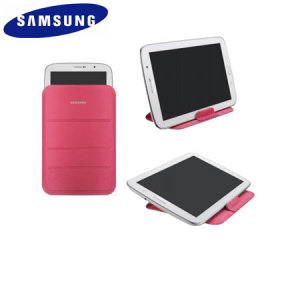 Official Samsung Galaxy Tab 3 8.0 Stand Pouch - Pink