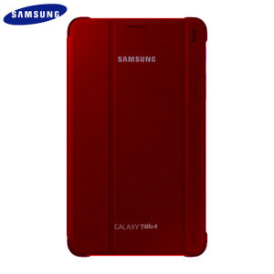 Official Samsung Galaxy Tab 4 7.0 Book Cover - Plum Red