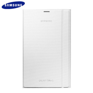 Official Samsung Galaxy Tab S 8.4 Book Cover - Dazzling White