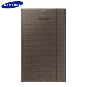 Official Samsung Galaxy Tab S 8.4 Book Cover - Titanium Bronze