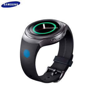 Official Samsung Gear S2 Watch Strap - Mendini Edition - Black