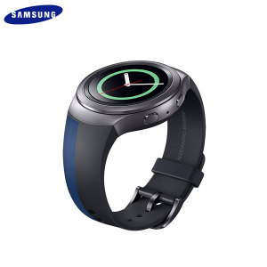Official Samsung Gear S2 Watch Strap - Mendini Edition - Blue/Black
