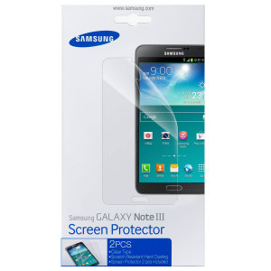 Official Samsung Screen Protectors for Samsung Galaxy Note 3 - 2 Pack