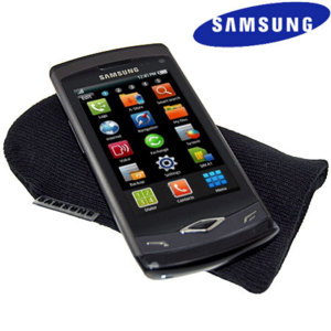 Official Samsung Wave Carry Sock - Black