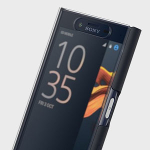 Official Sony Xperia X Compact Style Cover Touch Case - Black