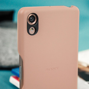 Official Sony Xperia X Protective Style Cover Case - Rose Gold