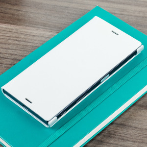 official sony xperia xz style cover stand case white