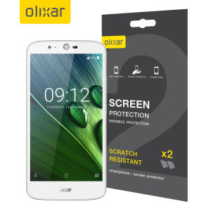 Olixar Acer Liquid Zest Screen Protector 2-in-1 Pack
