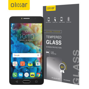 Olixar Alcatel POP 4S Tempered Glass Screen Protector