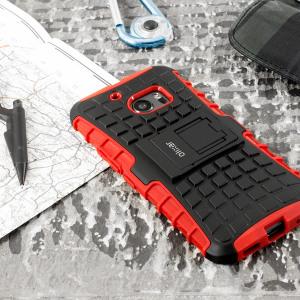 Olixar ArmourDillo HTC 10 Protective Case - Red