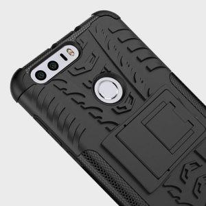 Olixar ArmourDillo Huawei Honor 8 Tough Case - Black