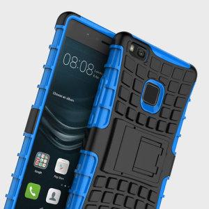 Olixar ArmourDillo Huawei P9 Lite Tough Case - Blue