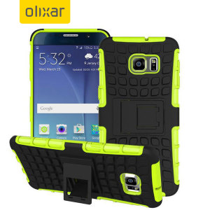 Olixar ArmourDillo Hybrid Samsung Galaxy Note 5 Case - Green