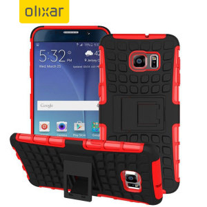 Olixar ArmourDillo Hybrid Samsung Galaxy Note 5 Case - Red