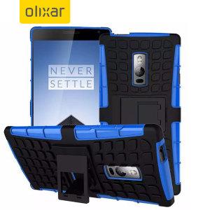 Olixar ArmourDillo OnePlus 2 Protective Case - Blue