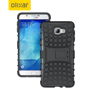 Olixar ArmourDillo Samsung Galaxy A9 2016 Tough Case - Black