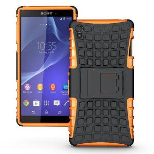 Olixar ArmourDillo Sony Xperia Z3 Protective Case - Orange
