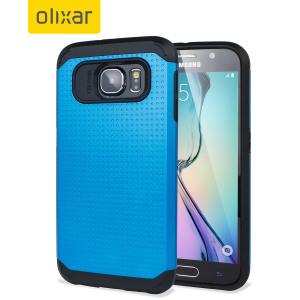 Olixar ArmourShield Samsung Galaxy S6 Case - Cobalt Blue