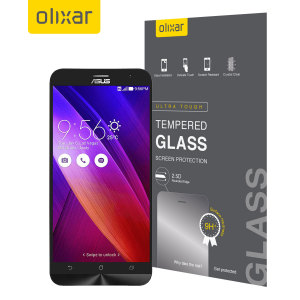 Olixar Asus Zenfone 2 Tempered Glass Screen Protector