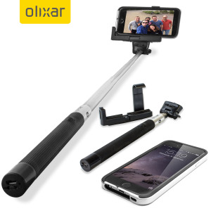 olixar bluetooth iphone selfie stick. Black Bedroom Furniture Sets. Home Design Ideas