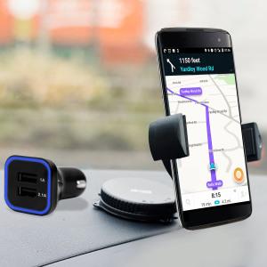 Olixar DriveTime BlackBerry DTEK60 Car Holder & Charger Pack