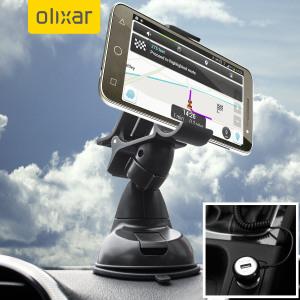Olixar DriveTime Vodaphone Smart Prime 6 Car Holder & Charger Pack
