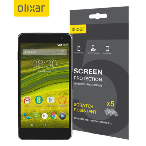 Olixar EE Harrier Screen Protector 5-in-1 Pack