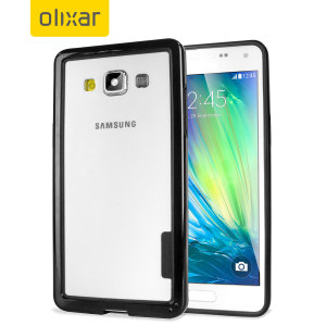 Olixar FlexiFrame Samsung Galaxy A5 2015 Bumper Case - Black