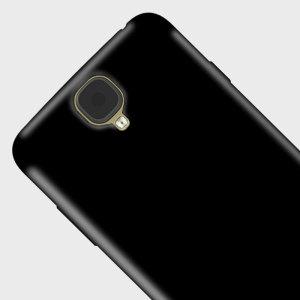 Olixar FlexiShield Archos 55 Helium 4 Seasons Gel Case - Solid Black