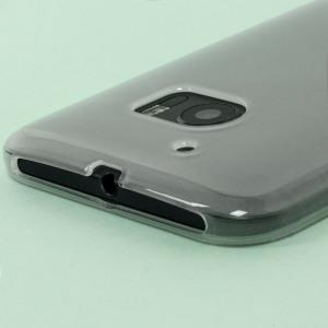 Olixar FlexiShield HTC 10 Gel Case - Frost White