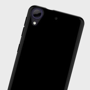 Olixar FlexiShield HTC Desire 650 Gel Case - Solid Black