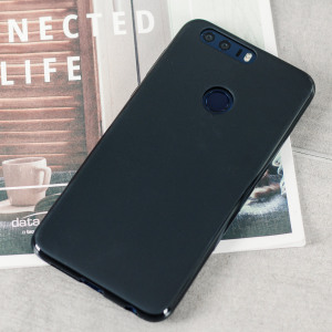 Olixar FlexiShield Huawei Honor 8 Gel Case - Solid Black