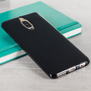 Olixar FlexiShield Huawei Mate 9 Pro Gel Case - Solid Black