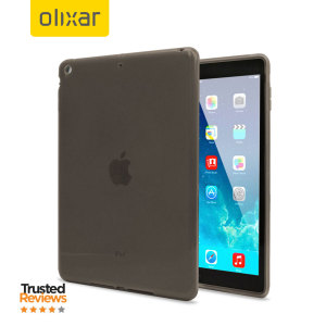 Olixar FlexiShield iPad Air 2 Gel Case - Smoke Black