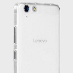 Olixar FlexiShield Lenovo K5 Gel Case - Frost White