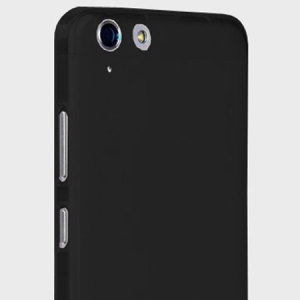 Olixar FlexiShield Lenovo K5 Gel Case - Solid Black