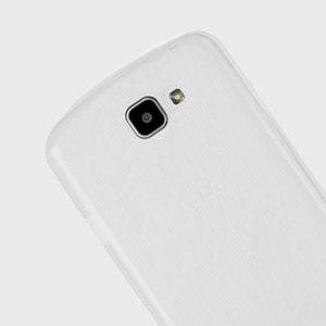 Olixar FlexiShield LG K4 Gel Case - Frost White