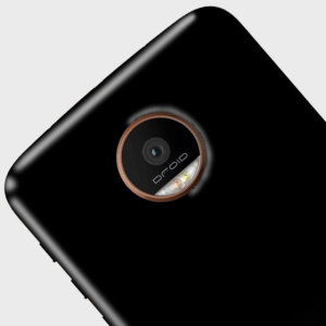 Olixar FlexiShield Motorola Moto Z Force Gel Case - Solid Black