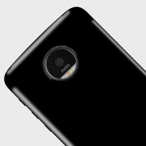 Olixar FlexiShield Motorola Moto Z Play Gel Case - Solid Black