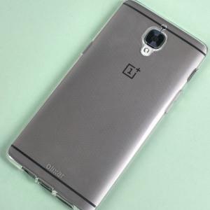 Olixar FlexiShield OnePlus 3T / 3 Gel Case - 100% Clear