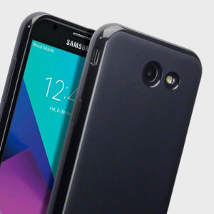 Olixar FlexiShield Samsung Galaxy J3 2017 Gel Case - Solid Black