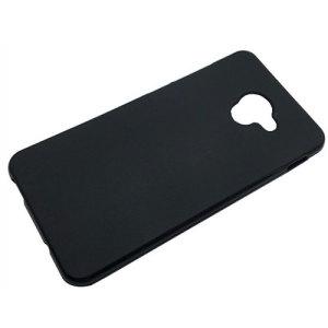 Olixar FlexiShield Vodafone Smart Ultra 7 Gel Case - Solid Black
