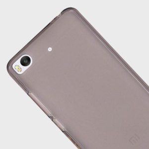 Olixar FlexiShield Xiaomi Mi 5s Gel Case - Smoke Black