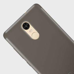 Olixar FlexiShield Xiaomi Redmi Note 3 Gel Case - Smoke Black