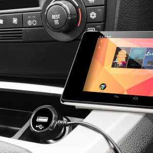 Olixar High Power Google Nexus 7 2013 Car Charger